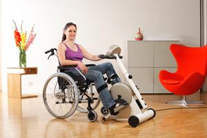 bewegungstrainer mit motor stiftung myhandicap. Black Bedroom Furniture Sets. Home Design Ideas