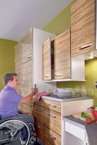 m bel f r behinderte menschen so wird ihr zuhause barrierefrei stiftung myhandicap. Black Bedroom Furniture Sets. Home Design Ideas